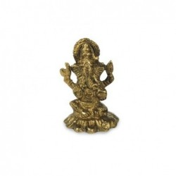 Figura Ganesha Laton 7 cm