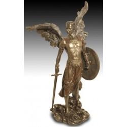 Figura Resina Arcangel Miguel 36 cm