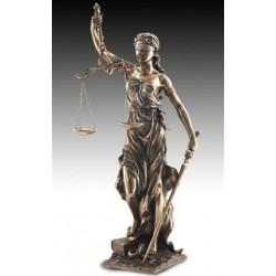 Figura Resina Diosa Justicia 75 cm