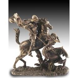 Figura Resina San Jorge 27 cm