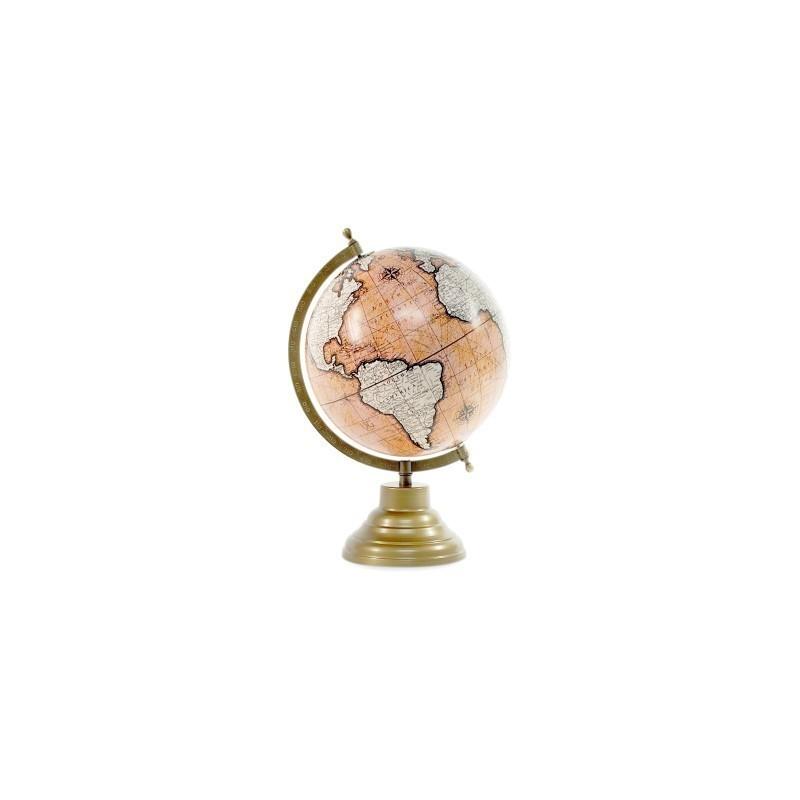 Globo Terraqueo Peana 20 cm