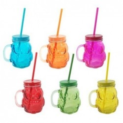 Vaso Jason x6 Colores 12 cm