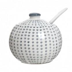 Azucarero Ceramica Topos