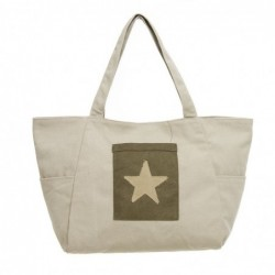 Bolsa Patch Star Denim
