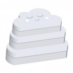Caja Carton Juego 3 unidades Nube