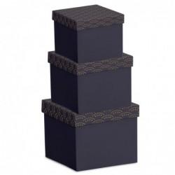 Caja Carton Juego 3 unidades Portobello
