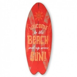 Placa Pared Surf Vintage 75x28 cm