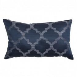 Cojin Jaquard Azul 30x50 cm