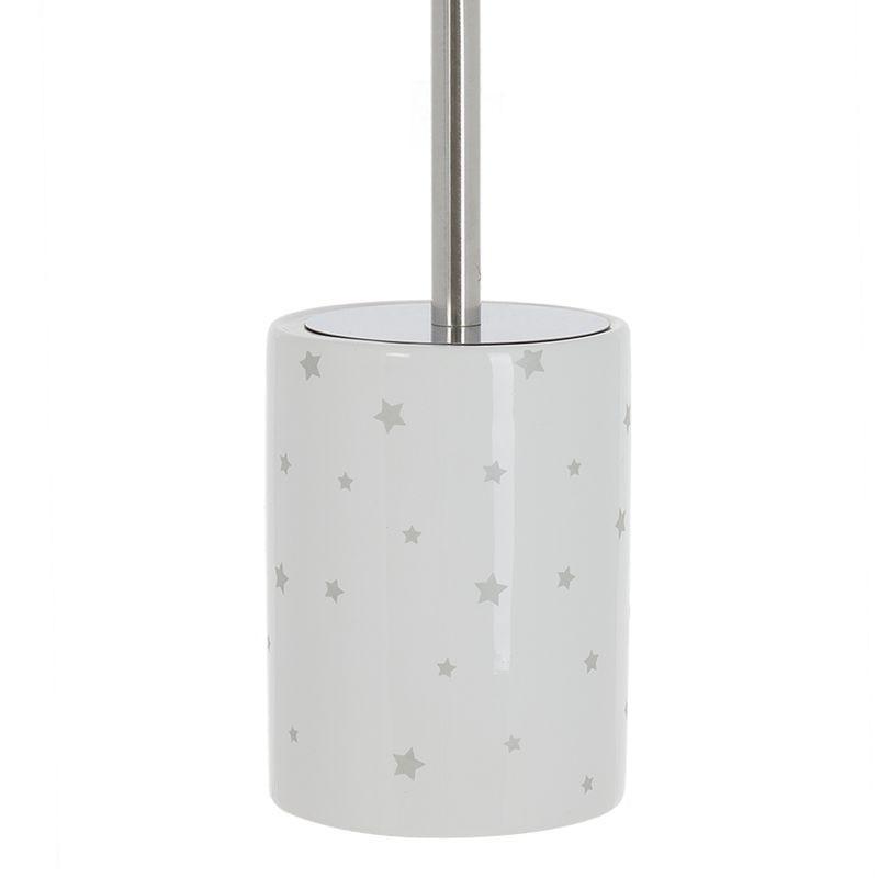 Escobillero WC Silver 33 cm