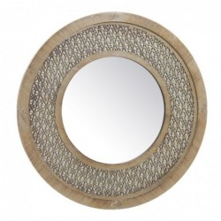 Espejo Madera Troquelado 50 cm