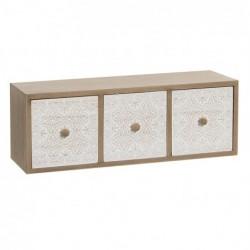 Mueble Cajonero 3 Cajones 34 cm