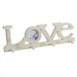 Perchero Love Crema 40 cm
