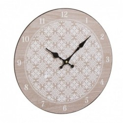 Reloj Pared Madera Modernista 30 cm