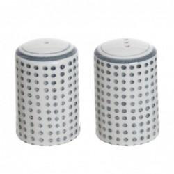 Salero y Pimentero Ceramica Topos