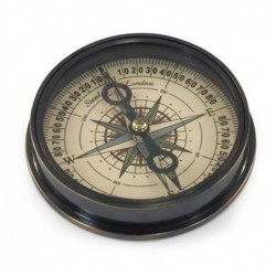Brujula Retro Laton 8 cm