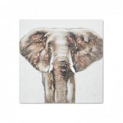 Cuadro Decorativo Elefante 80x80 cm