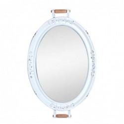 Espejo Pared Bandeja Metalico 75x48 cm
