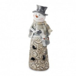 Figura Muñeco de Nieve 25 cm