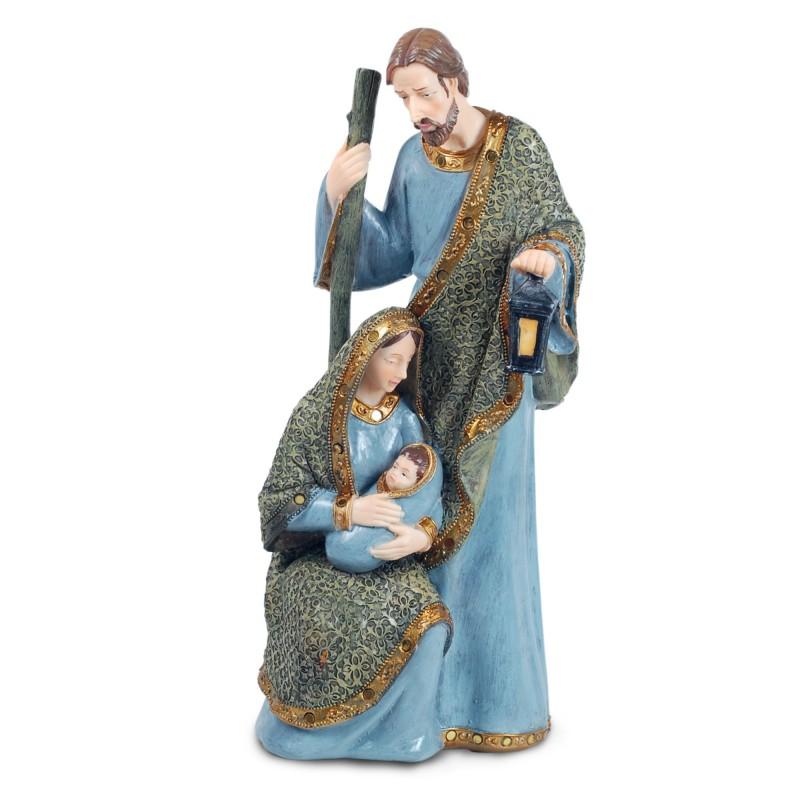 Figura Religiosa Resina Sagrada Familia 39 cm