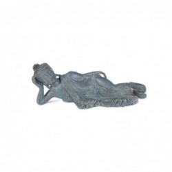 Figura Resina Buda Acostado 31 cm