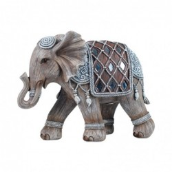 Figura Resina Elefante 21 cm