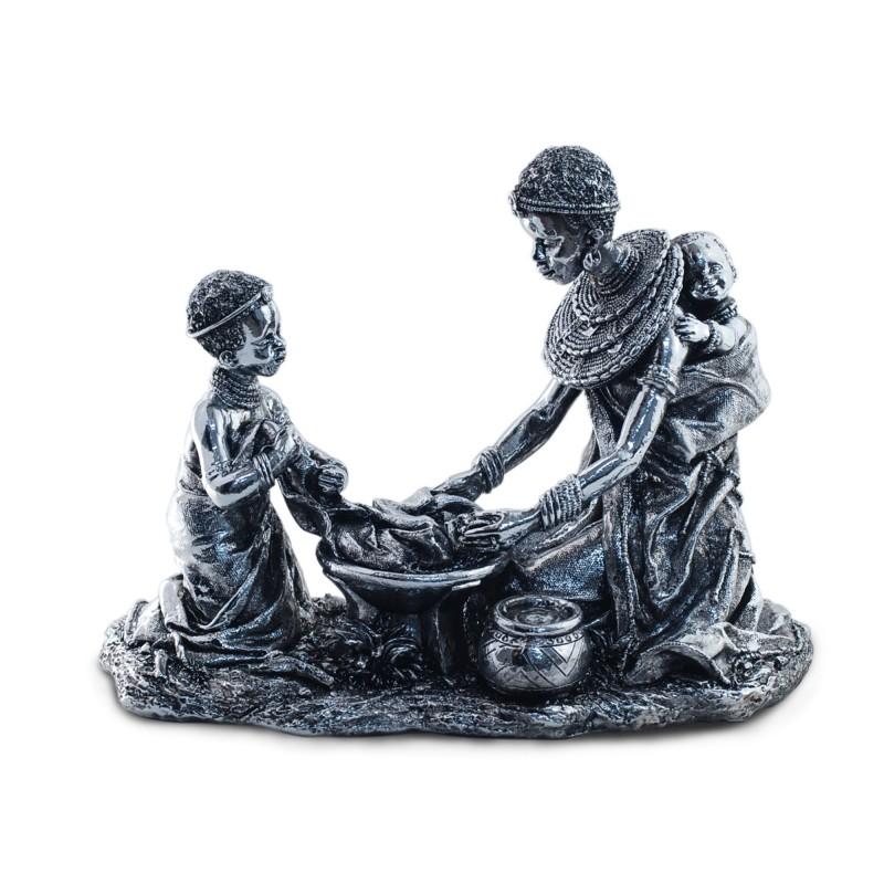 Figura Resina Madre con Niño 29 cm