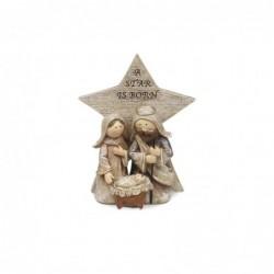 Figura Resina Navidad 11 cm