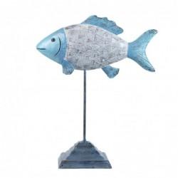 Figura Resina Pez 27 cm