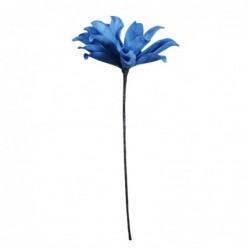 Flor Artificial Decorativa Azul 60 cm
