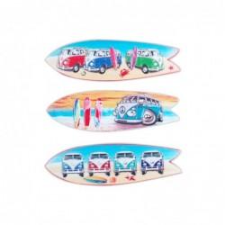 Iman de Nevera x3 Surf 12 cm