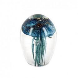 Pisapapeles Medusa Azul 7 cm