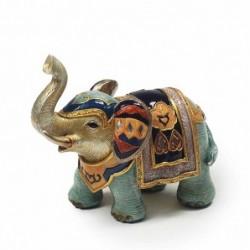 Figura Elefante Resina 17 cm