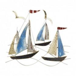 Adorno Pared Barco 44 cm