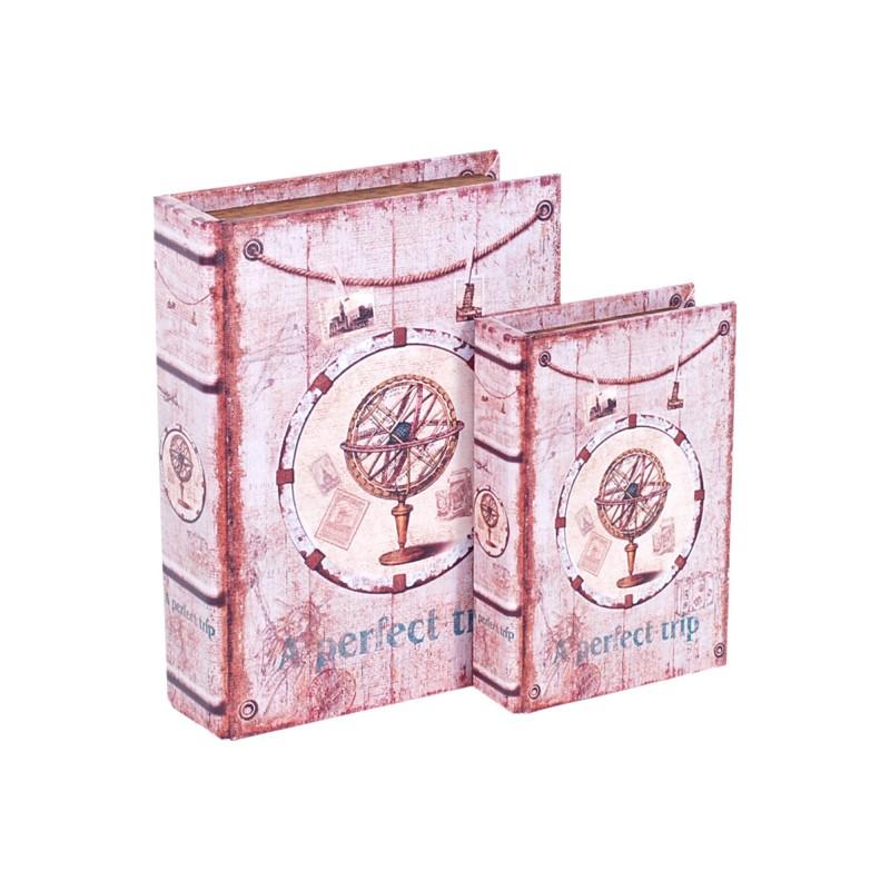 Caja Set 2 Unidades Retro 24 cm