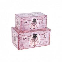 Caja Set 2 Unidades Retro 30 cm