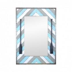Espejo Pared Madera Remos 100x70 cm