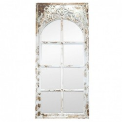 Espejo Pared Madera Retro 130x60 cm