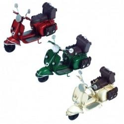 Figura Metalica Moto scooter Surtida (1 unidad) 11 cm