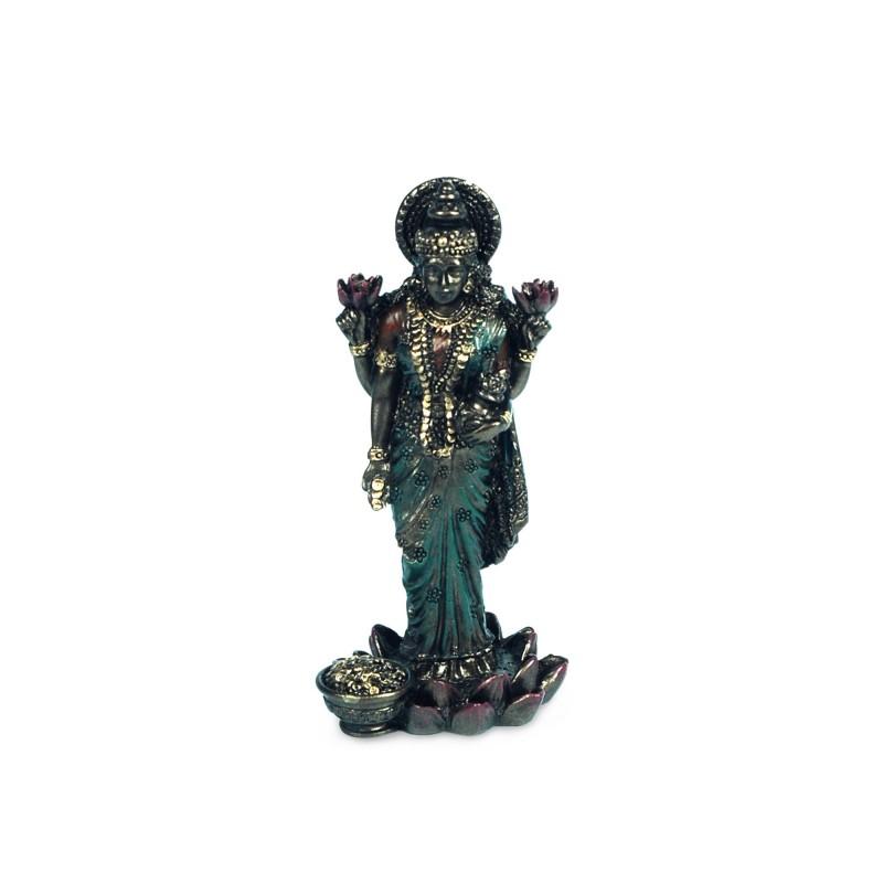 Figura Resina Budista LAKSHMI 8 cm