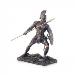 Figura Resina Clasica Achilles Heroe Griego 23 cm
