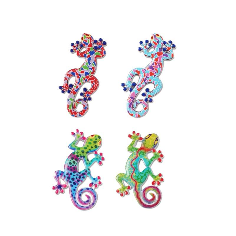 Iman Nevera x4 Lagartos 10 cm
