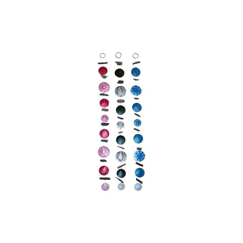 Movil Decorativo Conchas x3 Colores 95 cm