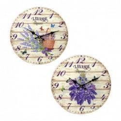 Reloj Pared Retro Surtido (1 unidad) 33 cm