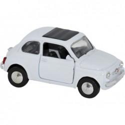 FIAT 500 1965 BLANCO ESCALA 1:32 L: 9CM
