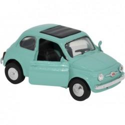 FIAT 500 1965 VERDE ESCALA 1:32 L: 9CM