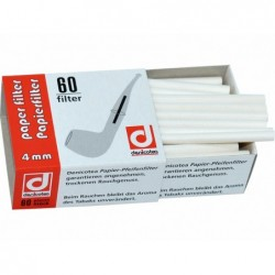 PACK 12 CAJITAS FILTROS-60 DENICOTEA 4MM PAPEL