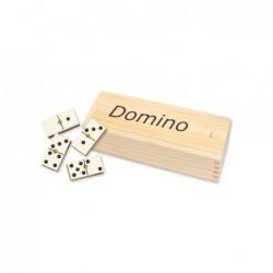Juego Domino En Caja Madera