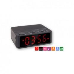 Radio Despertador Bluetooth LED