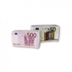 Set 2 Huchas Billetes 50 y 500 Euro 16 cm