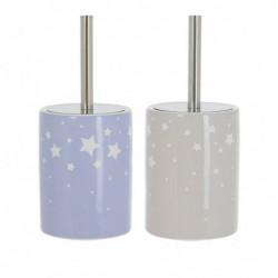 Escobillero WC x2 Estrellas 33 cm